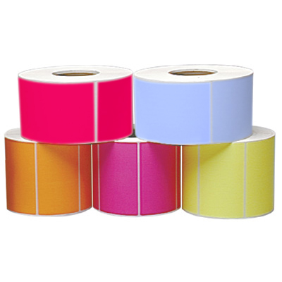 Fluorescent Industrial Thermal Transfer Labels