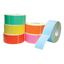 Colored Industrial Thermal Transfer Labels