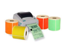 Colored Desktop Direct Thermal Labels