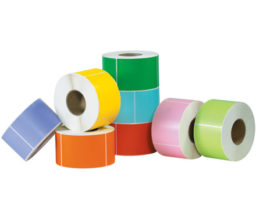 Colored Industrial Direct Thermal Labels